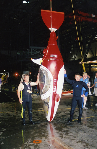 human powered submarines